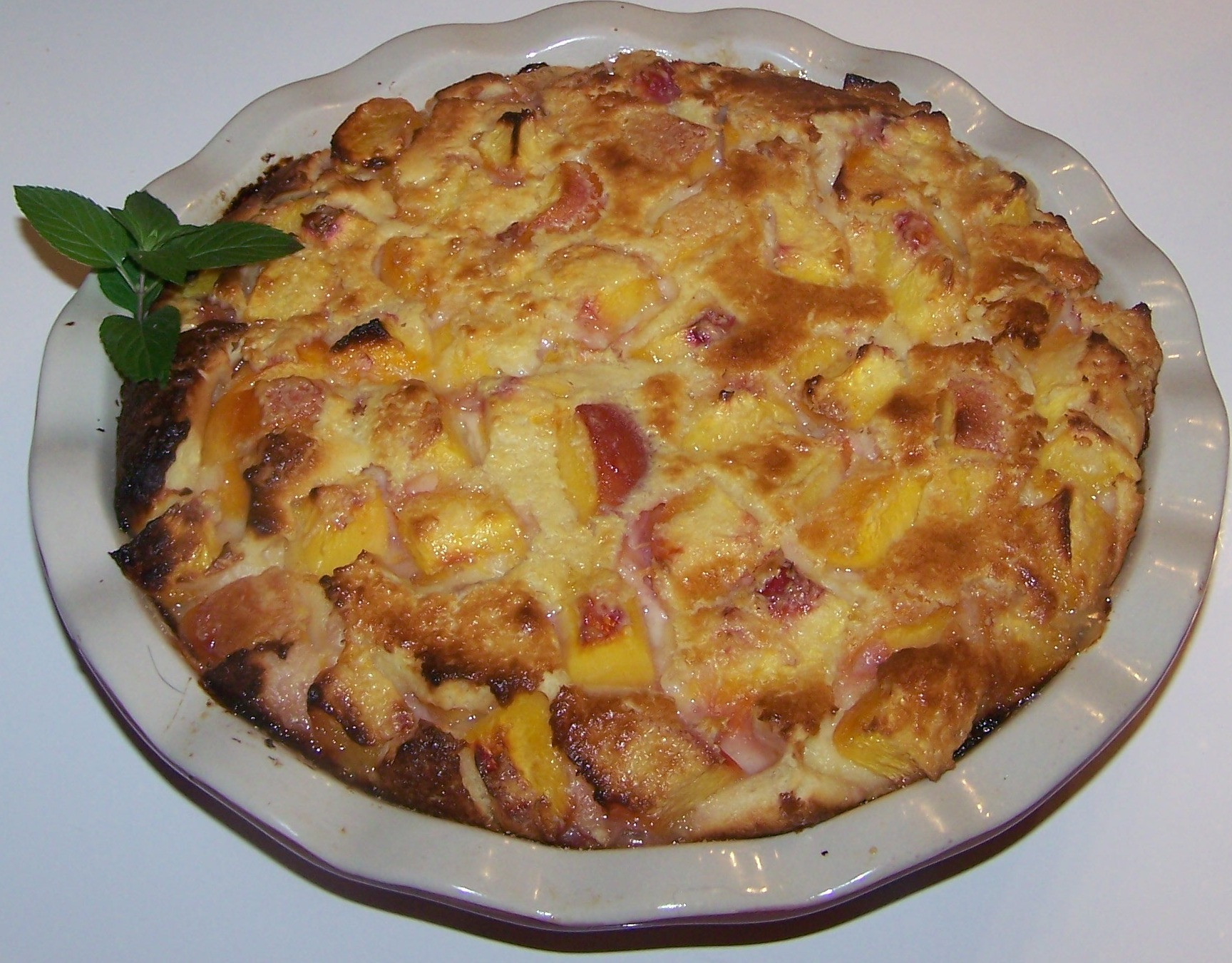 Fresh Peach Desserts Recipes  Fresh Peach Clafouti Recipe Desserts