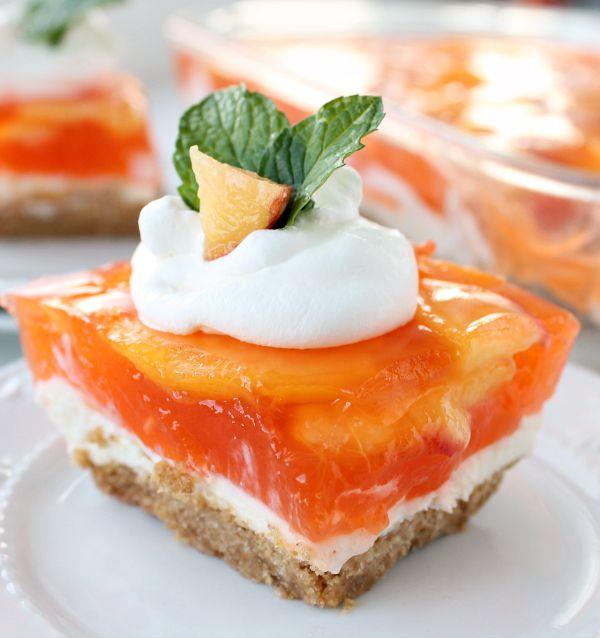 Fresh Peach Desserts Recipes  fresh peach dessert