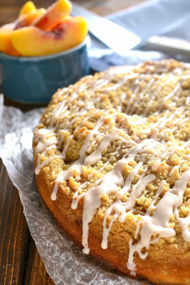 Fresh Peach Desserts Recipes  Peach Cobbler Coffee Cake