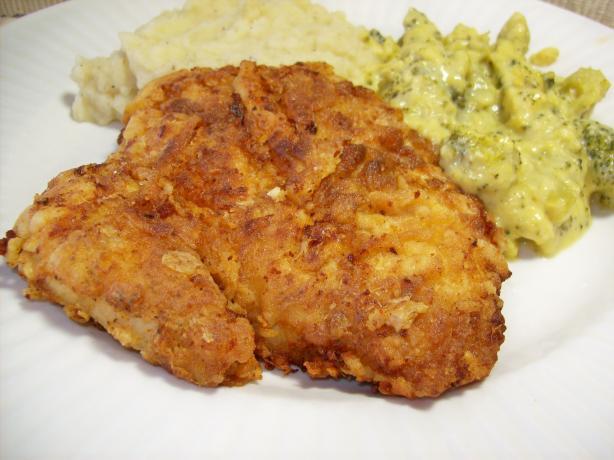 Fried Chicken Breast Recipe  Buttermilk Fried Chicken Breast Filets Recipe Food