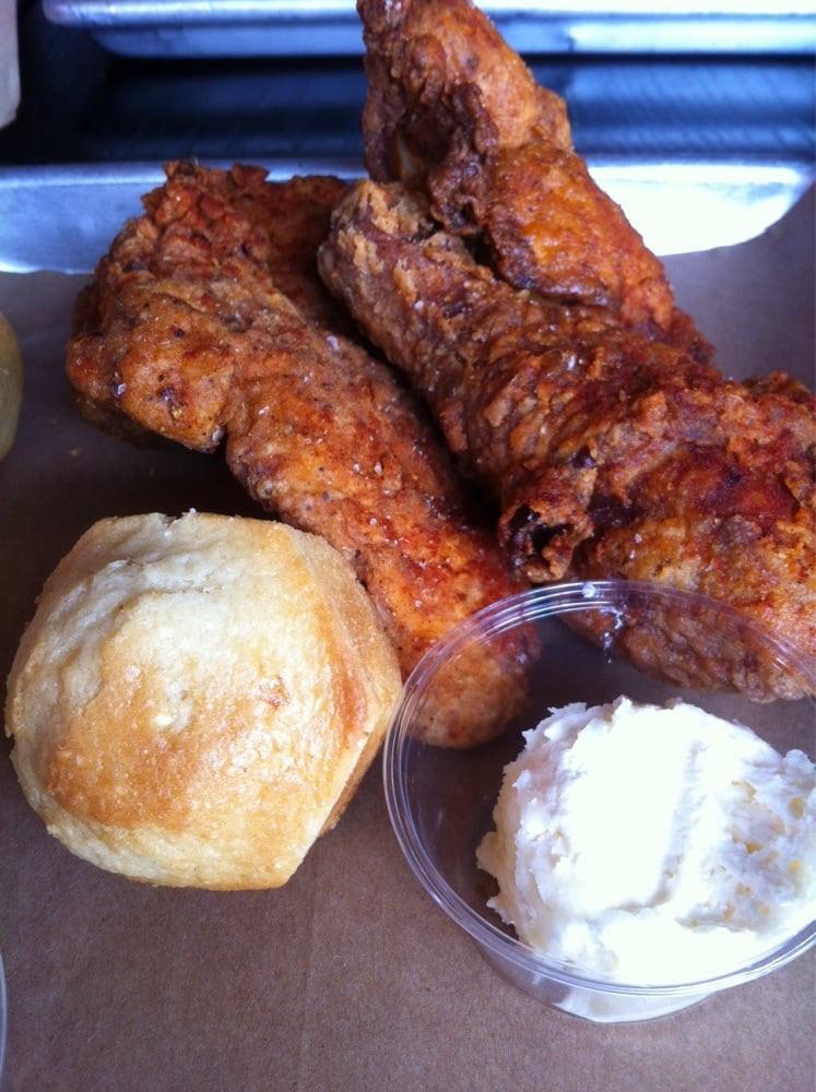 Fried Chicken Chicago  Chicken with honey butter