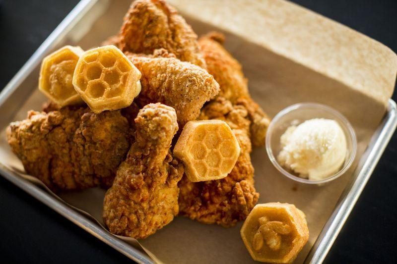 Fried Chicken Chicago  Brunch Bites Honey Butter Fried Chicken Starts Brunch