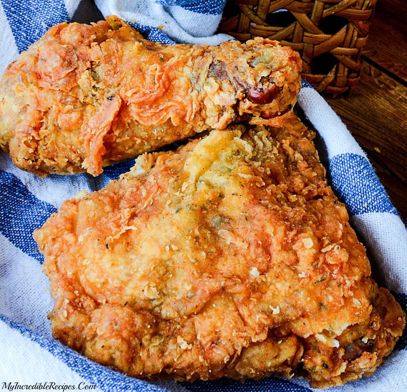 Fried Chicken Recipes  Southern KFC SECRET Fried Chicken Recipe