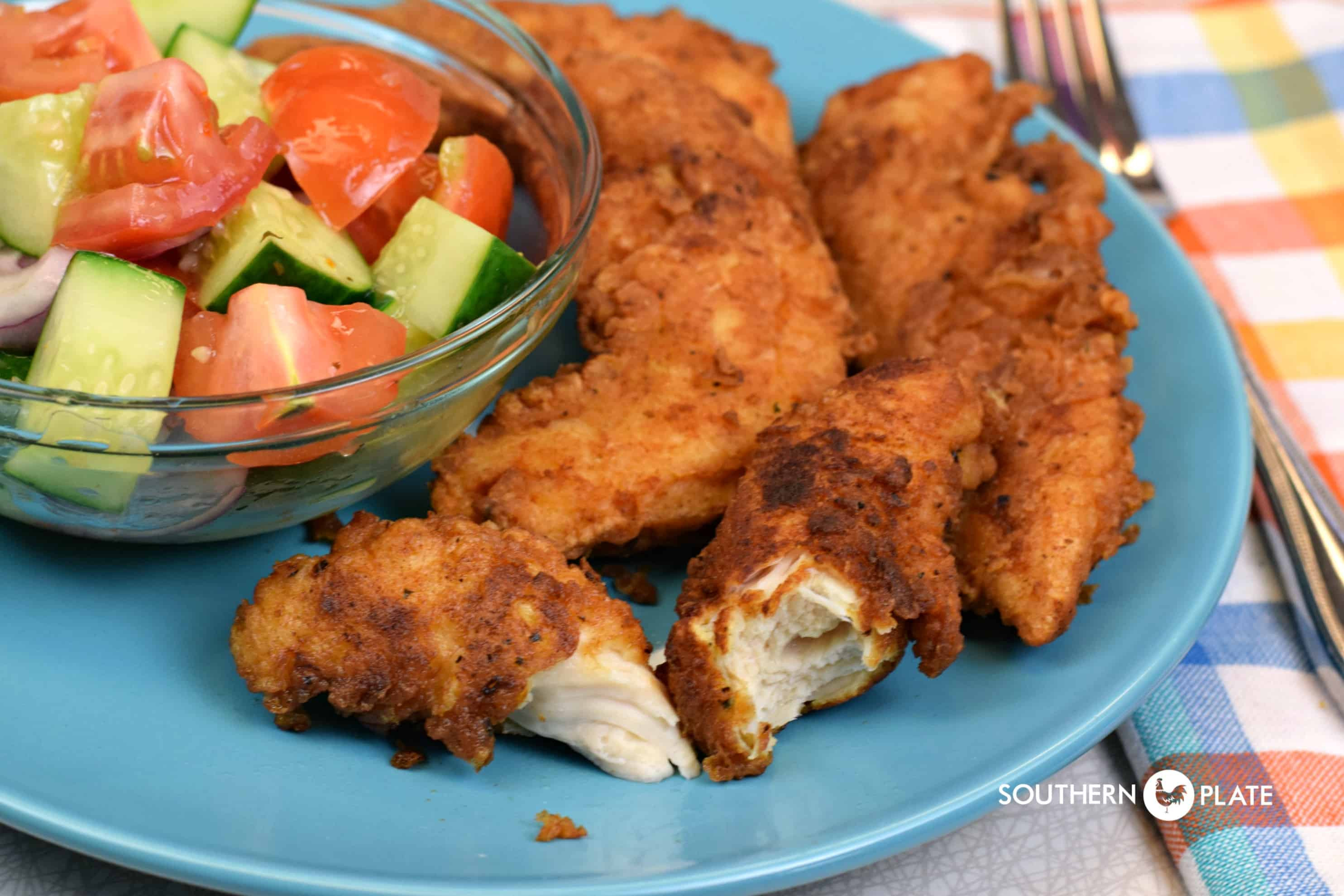 Fried Chicken Tender Recipes  Ranch Fried Chicken Tenders