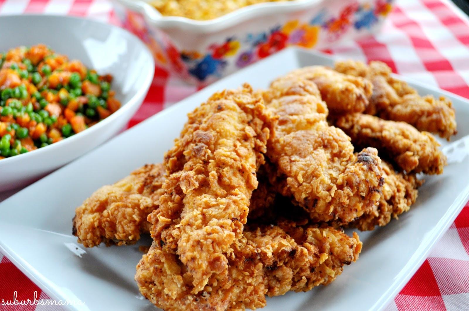 Fried Chicken Tenders  Suburbs Mama Fried Chicken Tenders