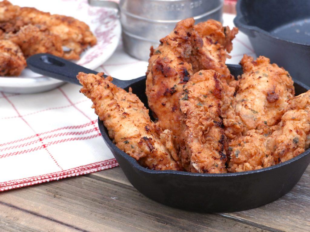 Fried Chicken Tenders  Country Fried Buttermilk Chicken Tenders