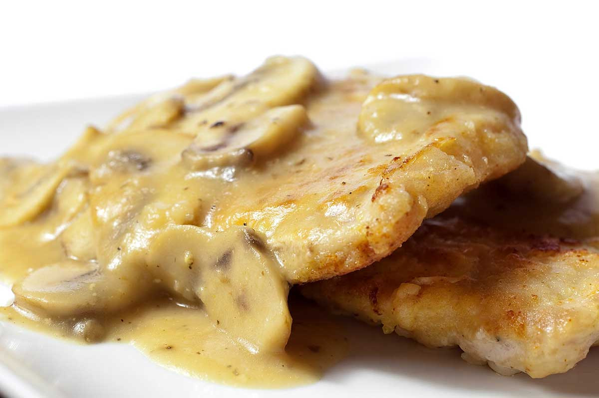 Fried Pork Chops And Gravy  Recipe for Pan Fried Pork Chops with Mushroom Gravy Life