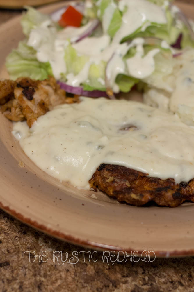 Fried Pork Chops And Gravy  THE RUSTIC REDHEAD Fried Pork Chops W Jalapeno gravy