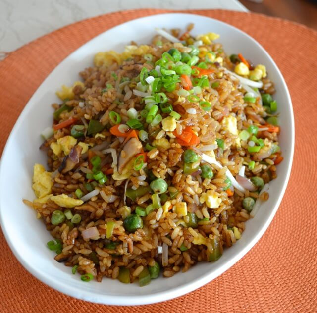 Fried Rice Recipie  Ve able Fried Rice The Woks of Life