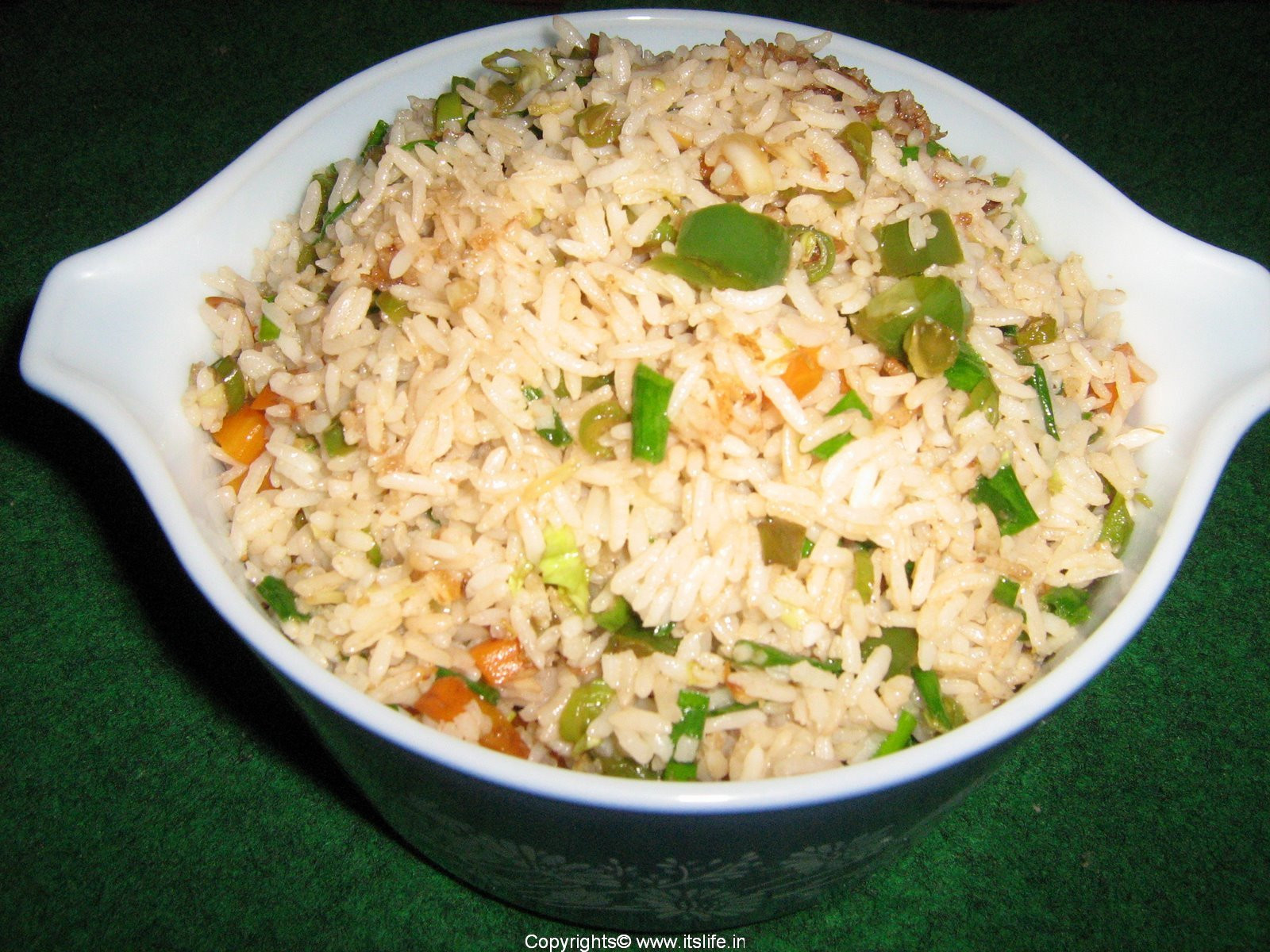Fried Rice Recipie  Ve able Fried Rice