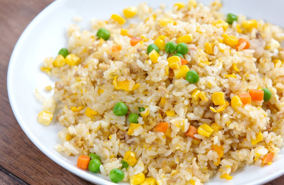 Fried Rice Recipie  Not Fried Rice Recipe