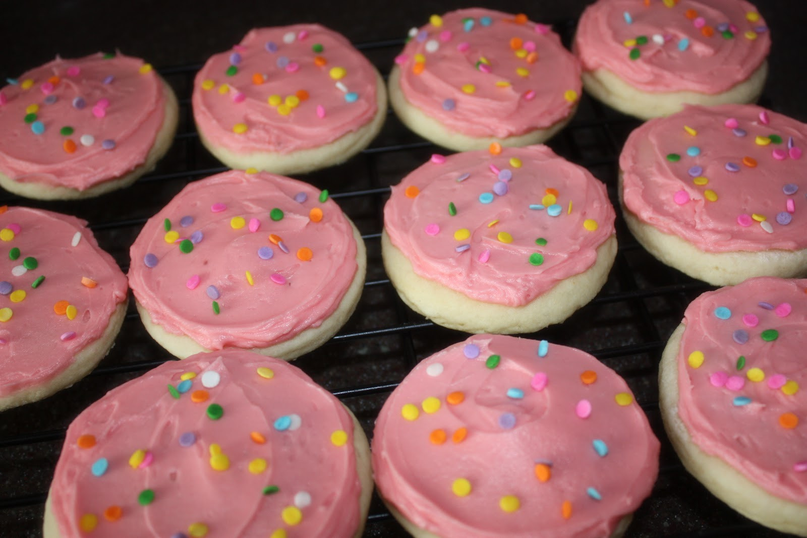 Frosted Sugar Cookies  just Sweet and Simple Lofthouse Frosted Sugar Cookies