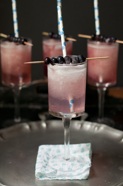 Frozen Alcoholic Drinks With Vodka  Blueberry Infused Vodka Frozen Lemonade Cocktail