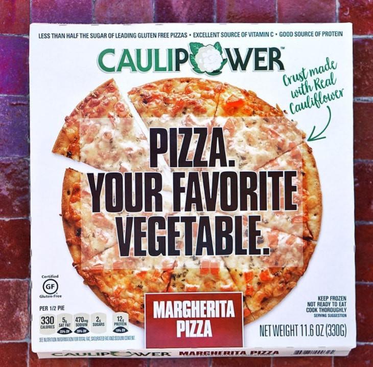 Frozen Cauliflower Pizza  Caulipower Be es Amazon s Top Frozen Pizza Startup In