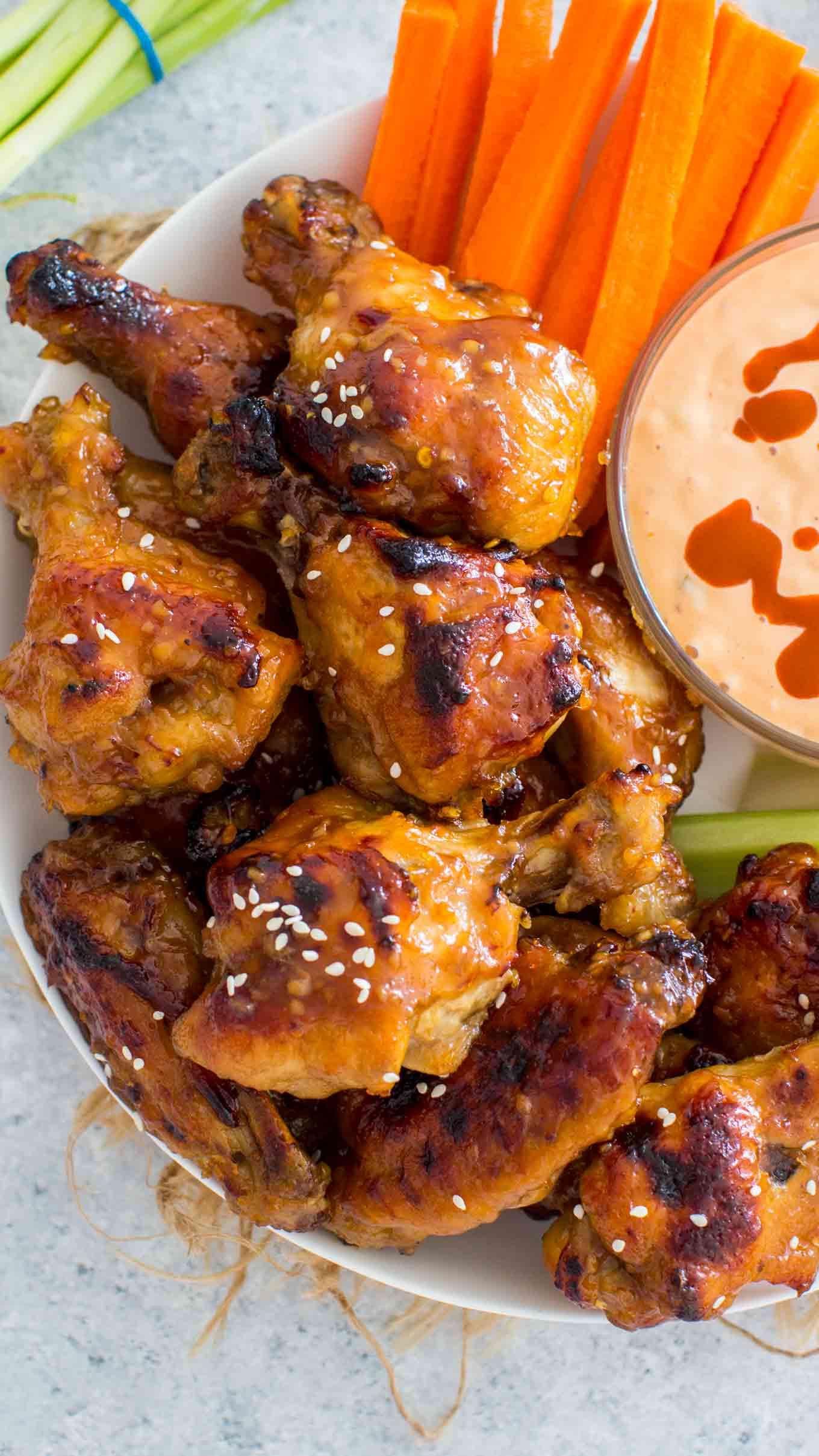 Frozen Chicken Wings Instant Pot  Best Instant Pot Chicken Wings From Fresh or Frozen Video