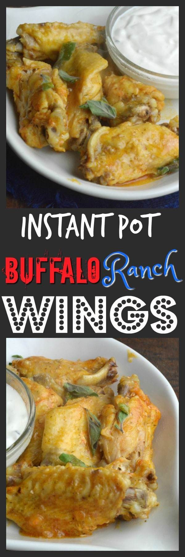 Frozen Chicken Wings Instant Pot  Buffalo and Ranch Instant Pot Wings Adventures of a Nurse