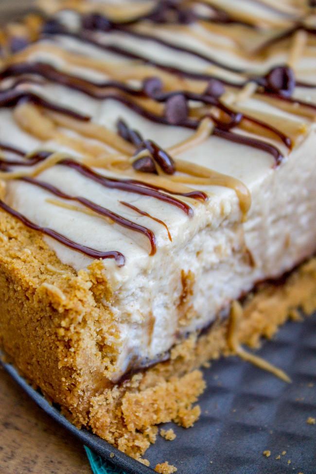 Frozen Peanut Butter Pie  No Bake Frozen Peanut Butter Pie with Hot Fudge The Food