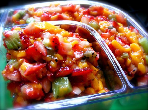 Fruit Salsa Recipe  Mango Fruit Salsa Recipe Food