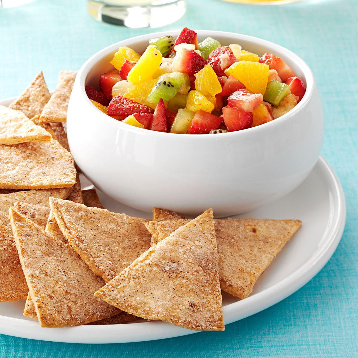 Fruit Salsa Recipe  Fruit Salsa and Cinnamon Chips recipe Food you should try