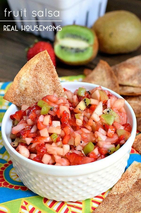 Fruit Salsa Recipe  Fruit Salsa ⋆ Real Housemoms