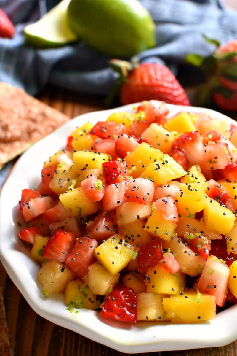 Fruit Salsa Recipe  fresh fruit salsa recipe