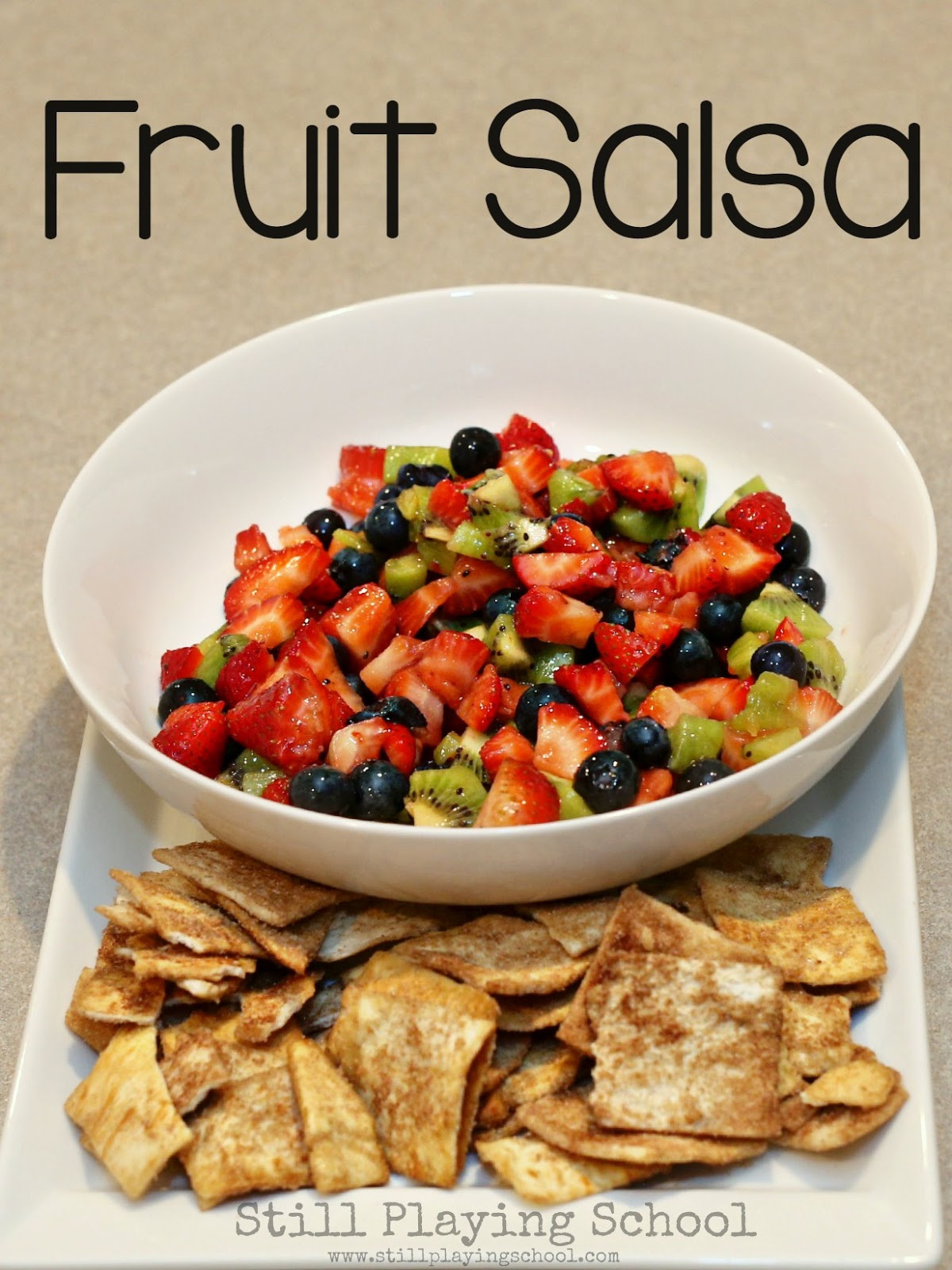 Fruit Salsa Recipe  Fruit Salsa Recipe for Kids