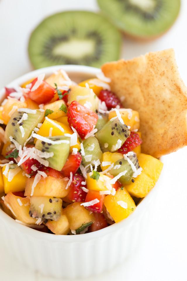 Fruit Salsa Recipe  Tropical Fruit Salsa
