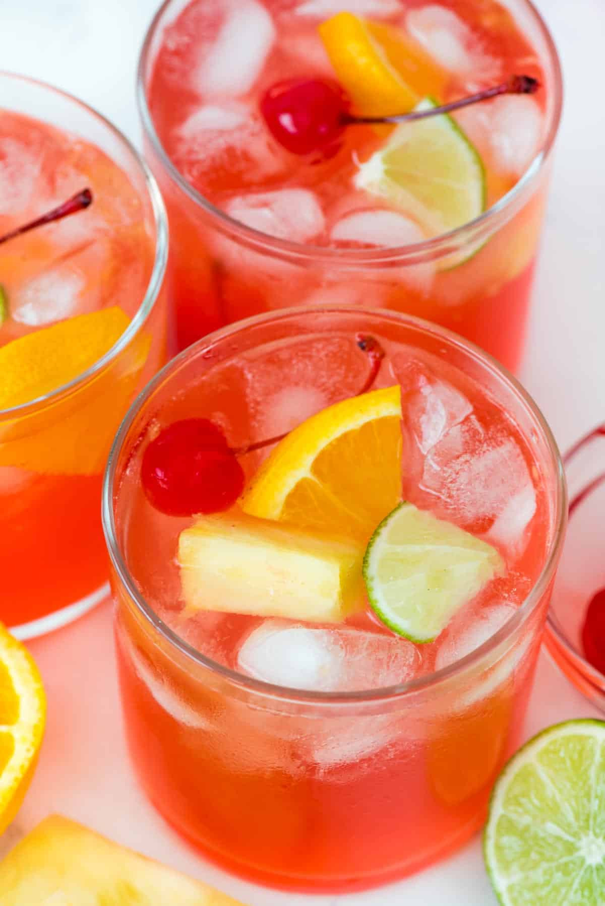 Fruity Drinks With Vodka  Fruity Vodka Party Punch Crazy for Crust