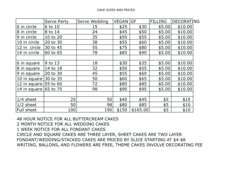 Full Sheet Cake Size  Cake Serving Guide Wilton Party Chart – originatedfo