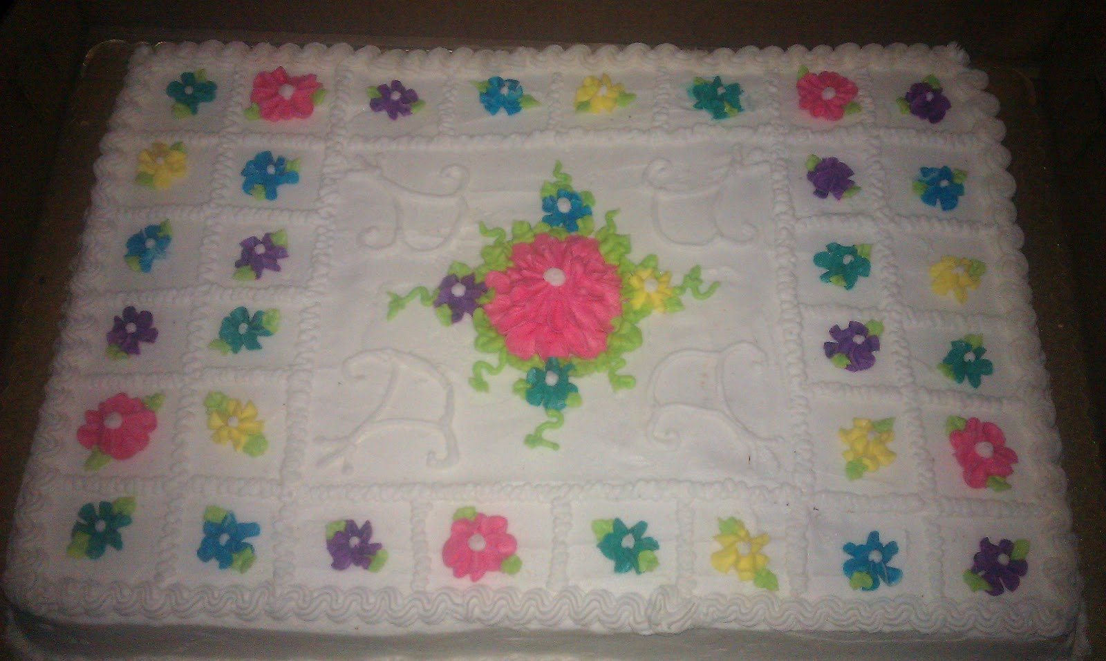 Full Sheet Cake Size  Full Sheet Cake Box Dimensions 2 Full Free Engine Image