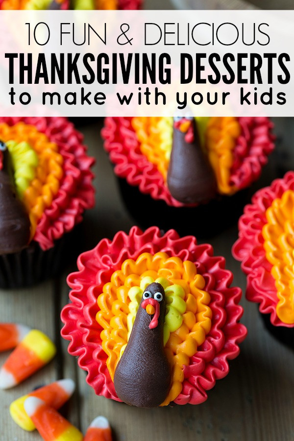 Fun Desserts To Make With Kids  Thanksgiving desserts to make with your kids