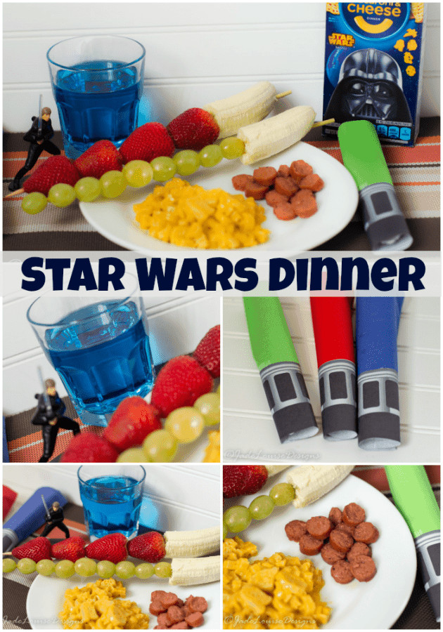 Fun Dinners For Kids  Easy Star Wars Dinner Ideas for a fun Star Wars Theme