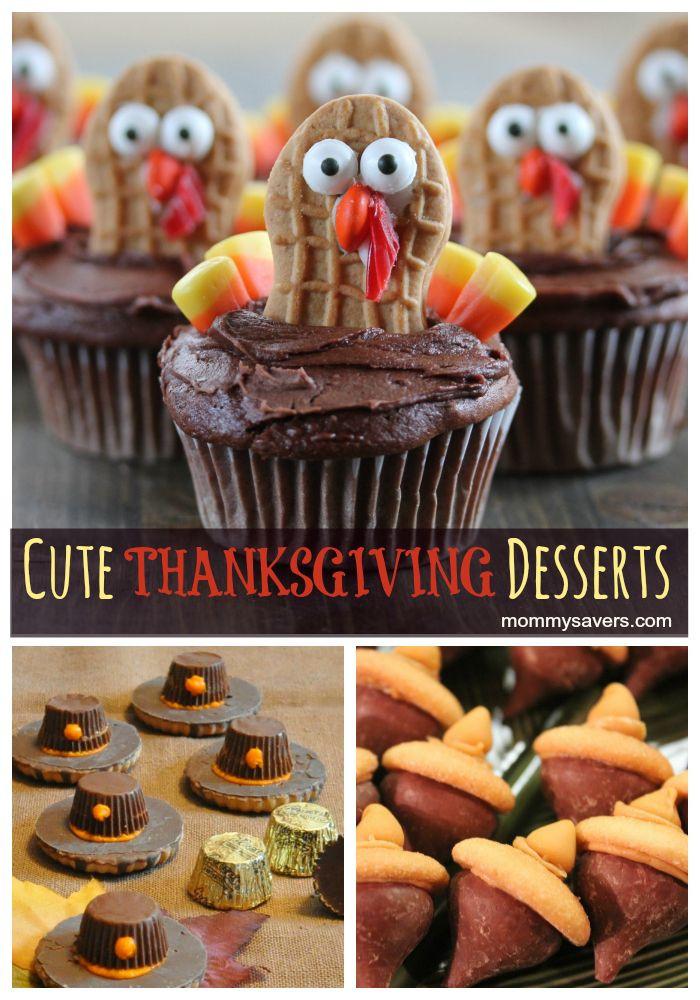 Fun Thanksgiving Desserts  Cute Thanksgiving Desserts dessert thanksgiving