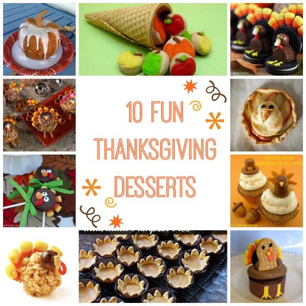 Fun Thanksgiving Desserts  10 Fun Turkey and Thanksgiving Themed Desserts Modern