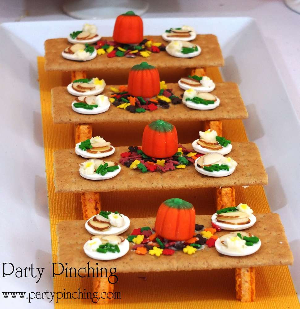 Fun Thanksgiving Desserts  Thanksgiving Fall Party Ideas 4 of 17