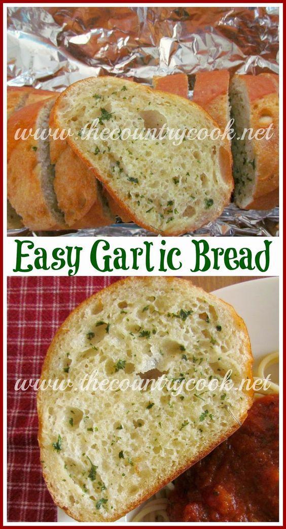 Garlic Bread With Garlic Powder  Easy Garlic Bread Recipe