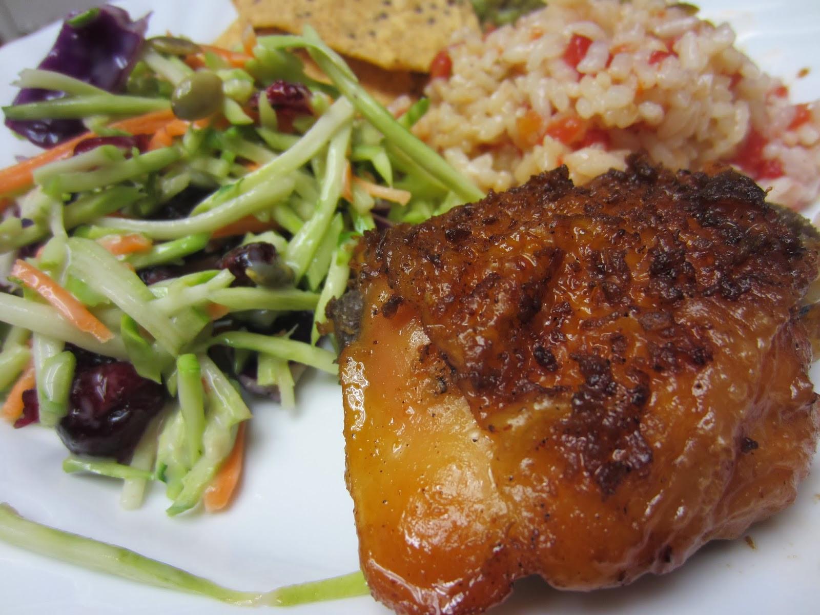 Garlic Chicken Thighs  Mennonite Girls Can Cook Easy brown sugar garlic chicken