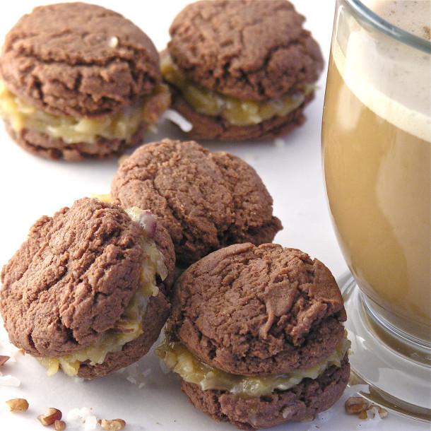 German Chocolate Cake Cookies  German Chocolate Cookie Bites