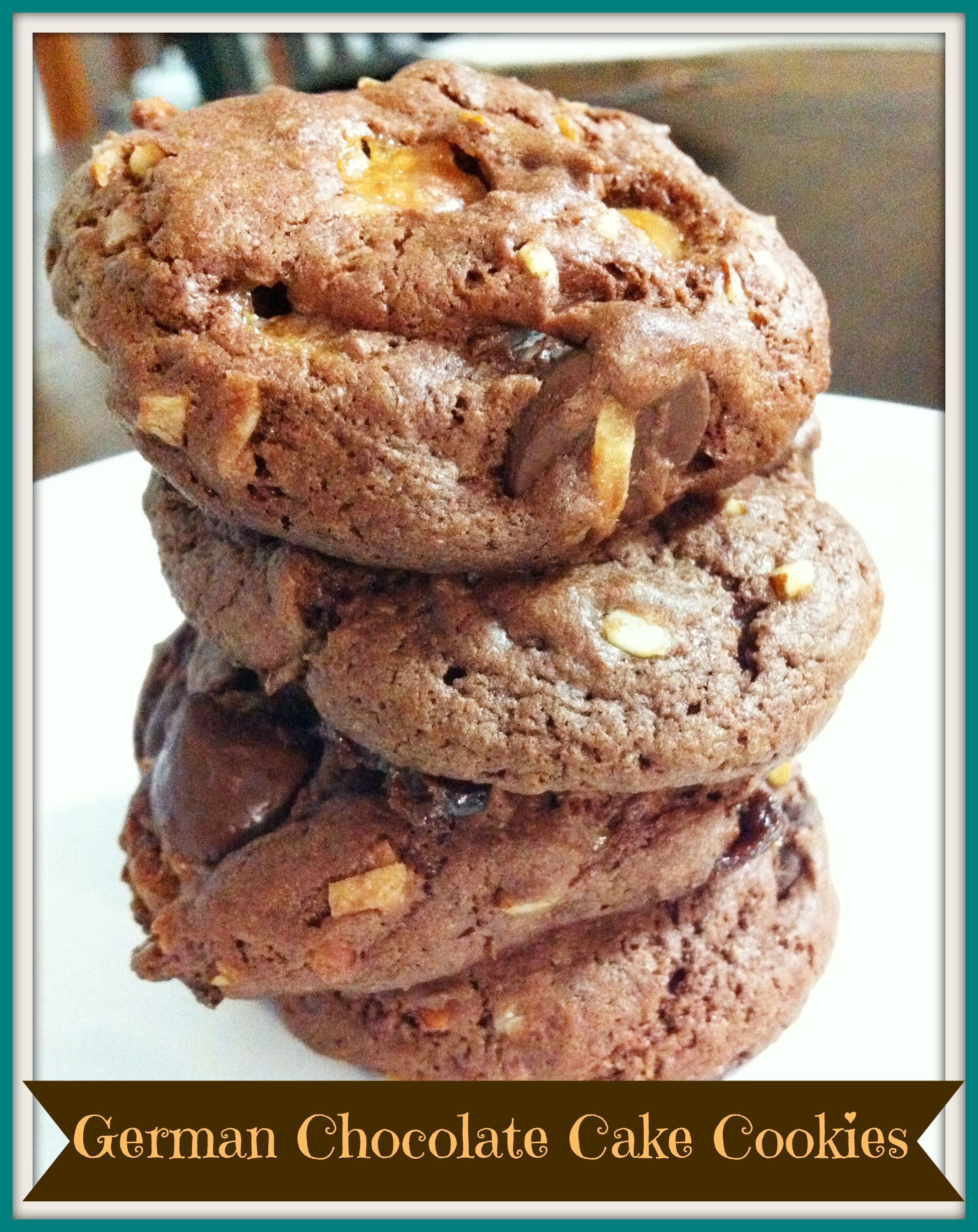 German Chocolate Cake Cookies  Cake Mix Cookies German Chocolate The Coers Family