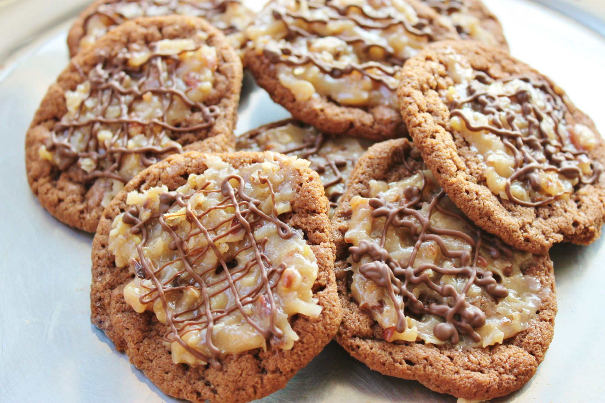 German Chocolate Cake Cookies  German Chocolate Cake Cookies Splendry