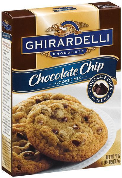 Ghirardelli Chocolate Chip Cookies  Ghirardelli Chocolate Chip Cookie Mix
