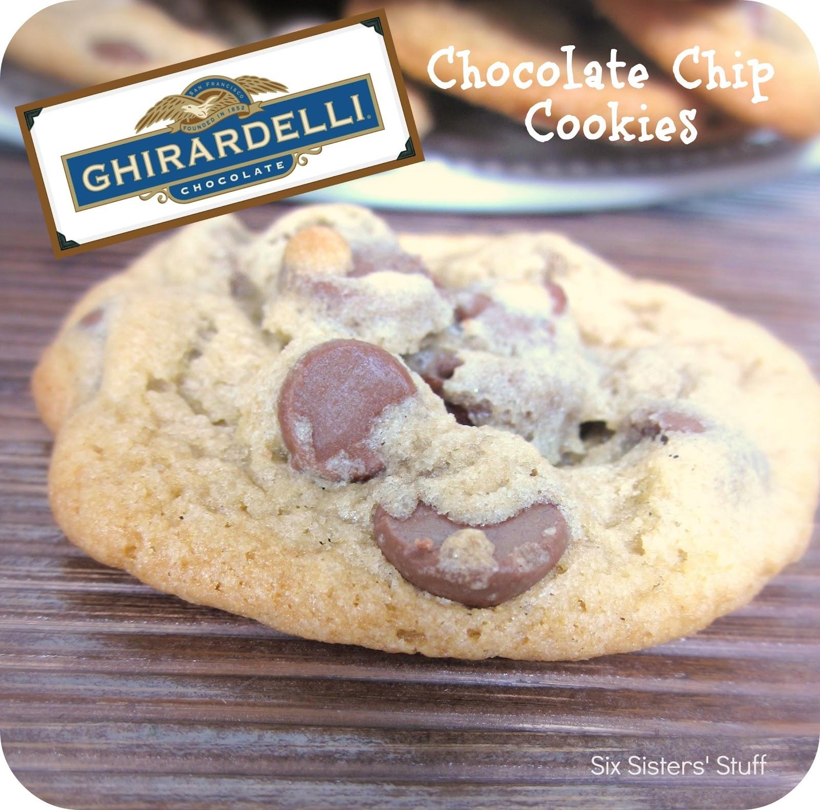 Ghirardelli Chocolate Chip Cookies  Ghirardelli Chocolate Chip Cookies Recipe