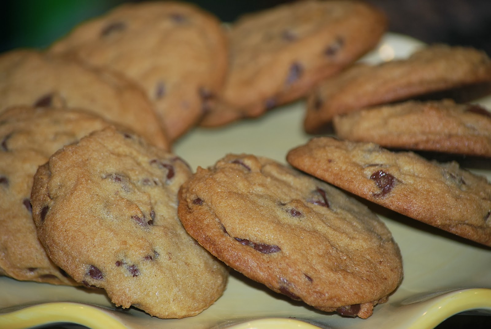 Ghirardelli Chocolate Chip Cookies  My story in recipes Master Chocolate Chip Cookies
