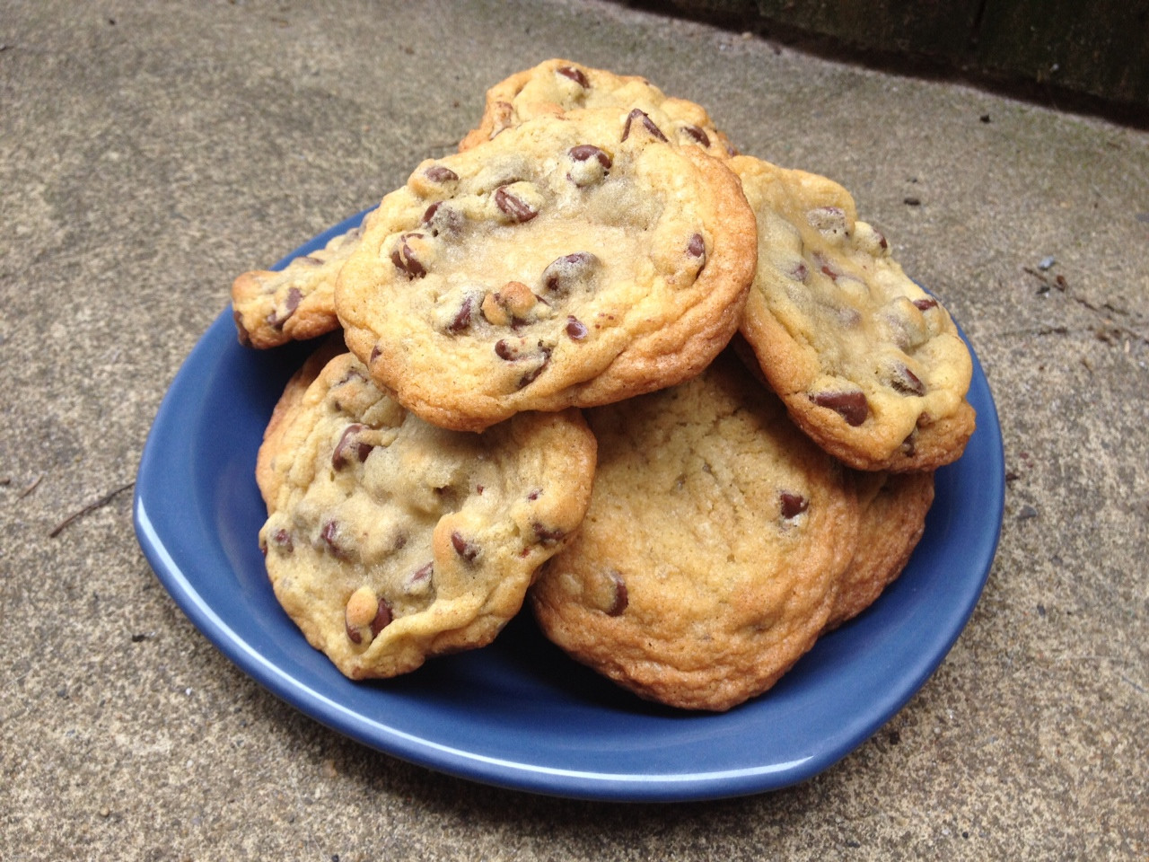 Ghirardelli Chocolate Chip Cookies  A Less Processed Life What s Baking Ghirardelli