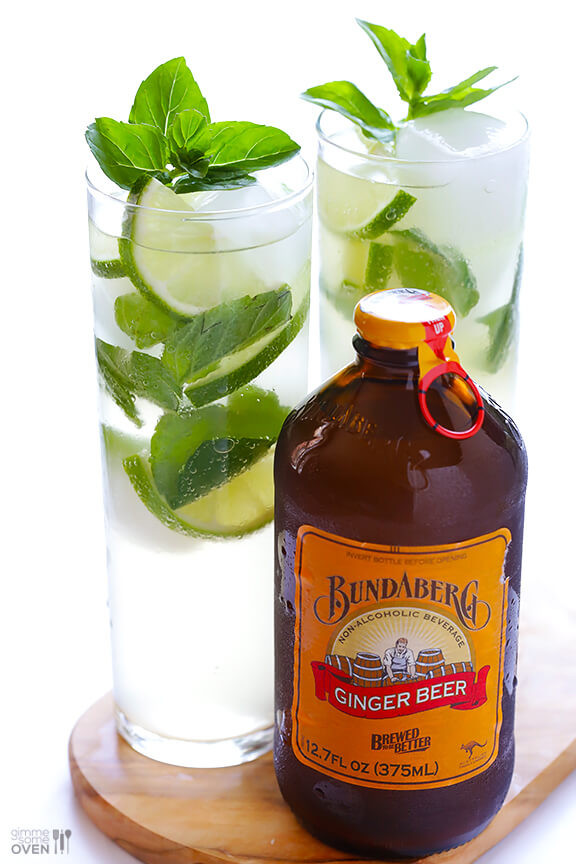 Ginger Beer Cocktails  Ginger Beer Mojito