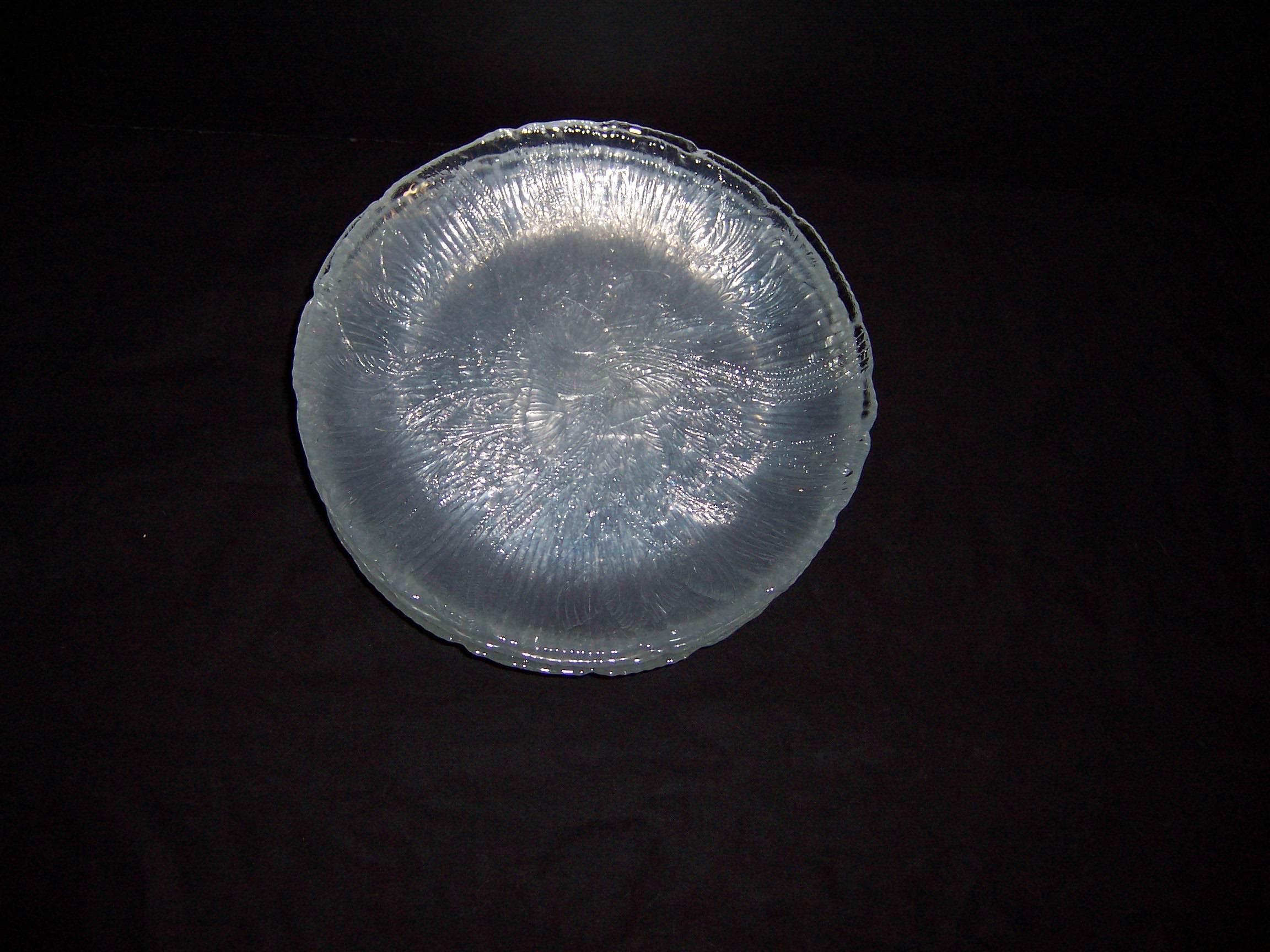 Glass Dessert Plates  Triple A Resale 7 Clear Glass Dessert Plates