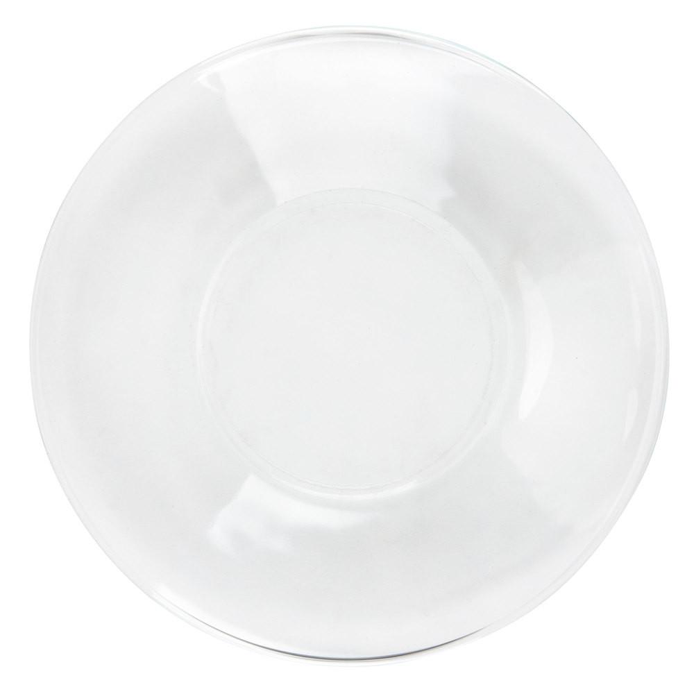 """Glass Dessert Plates  Libbey 5335 Moderno 6 1 4"""" Glass Salad Dessert Plate"""