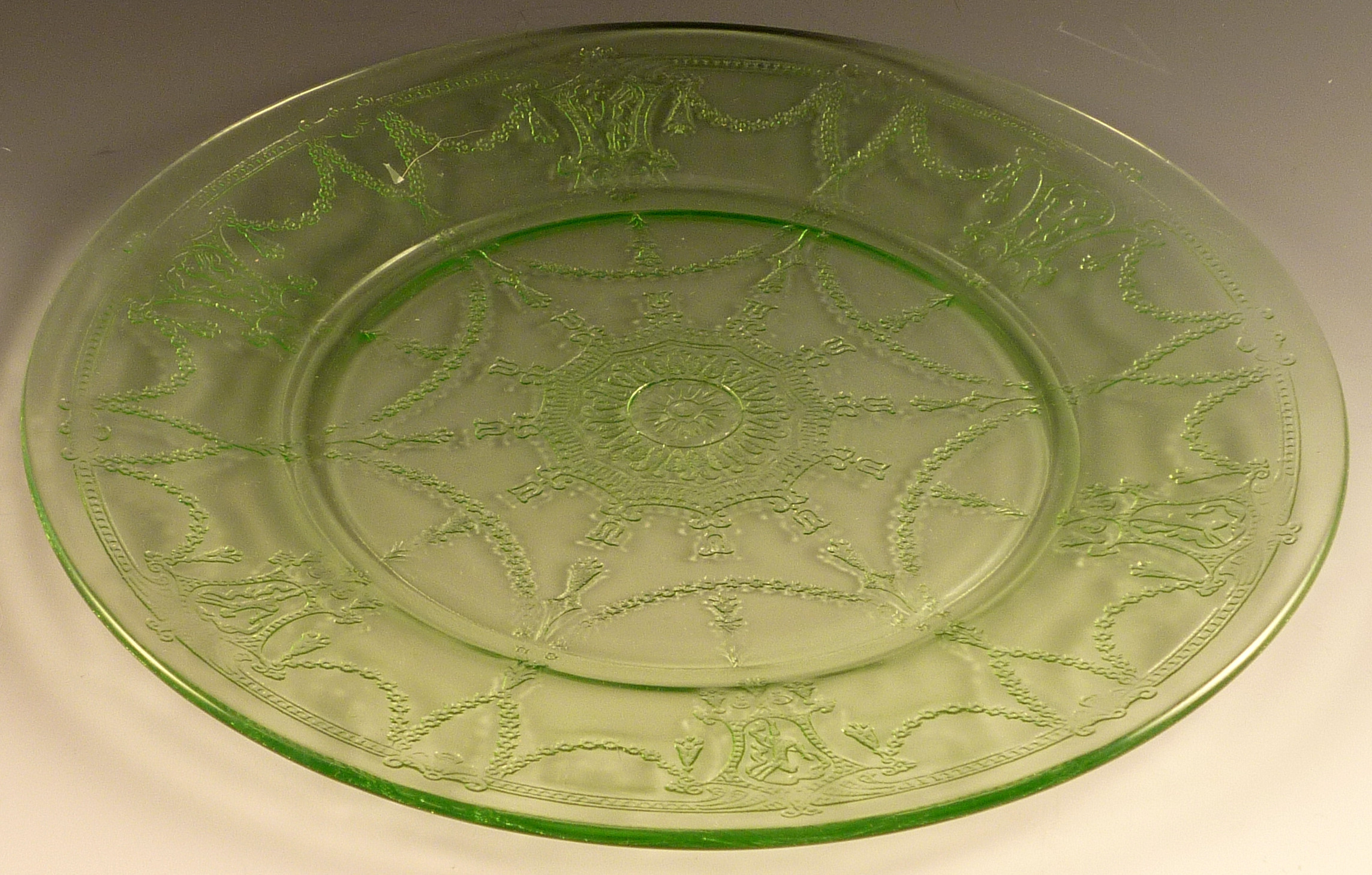 Glass Dinner Plates  Two Things I Learned Today