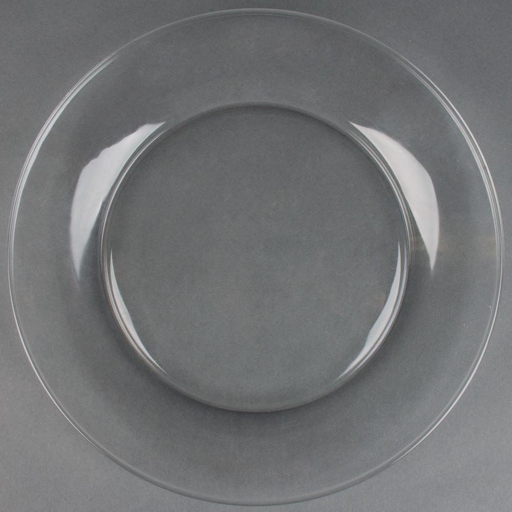 "Glass Dinner Plates  Libbey Moderno 10 1 2"" Glass Dinner Plate 12 Case"