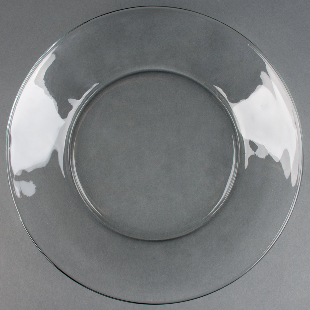 """Glass Dinner Plates  Anchor Hocking 10"""" Glass Dinner Plate 24 Case"""
